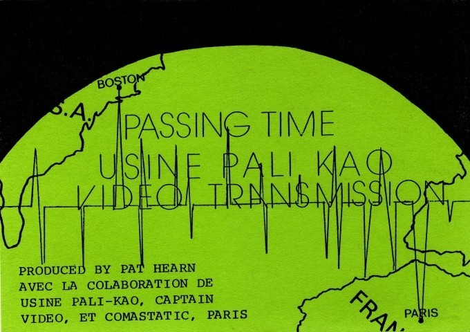Pat Hearn's flyers for 'Passing Time', 1981. Courtesy Thierry Cheverney